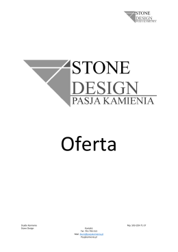 Oferta-stone-design
