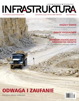 Krążący kamień - Instytut Mechanizacji Budownictwa i Górnictwa