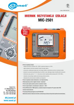 MIC-2501 - Merazet