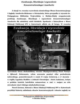 relacji z wykładu - Pedagogiczna Biblioteka Wojewódzka w Bielsku