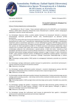 Odpowiedzi dotyczące postępowania nr 30/2015/PN (16.11.2015r)