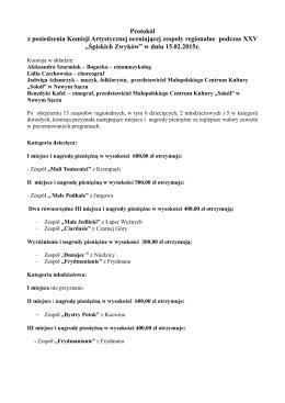 Protokół z dnia 15.02.2015 r.