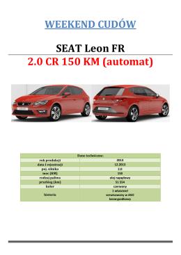 12. Leon FR diesel 2.0 czerwony 1339 K