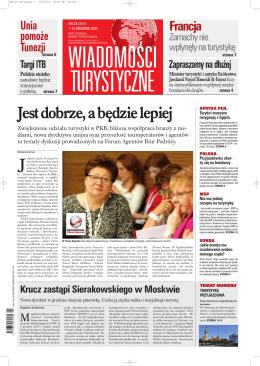 Wiadomości Turystyczne 23 – pełny tekst strona 20.
