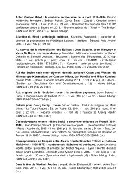 Juin 2015 - Eur`ORBEM