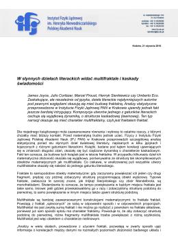 Instytut Fizyki Jądrowej Polskiej Akademii Nauk