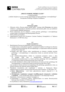 """PROCES POBORU PRÓBEK GLEBY"" w ramach projektu ""Lokalne"
