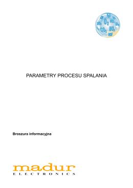 PARAMETRY PROCESU SPALANIA