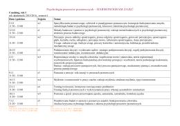 Psychologia procesów poznawczych
