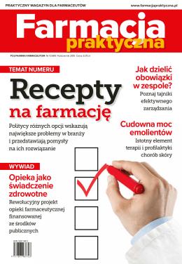 Farmacja Praktyczna nr 10 (89) 2015