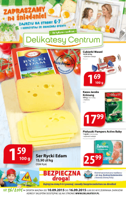 Ser Rycki Edam - Delikatesy Centrum