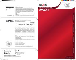 ctw-01 czujnik tlenku węgla