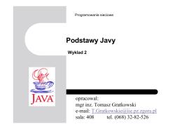 Java - Programowanie Sieciowe