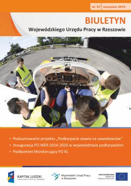 Biuletyn Wojewódzkiego Urzędu Pracy w Rzeszowie nr 31/2015