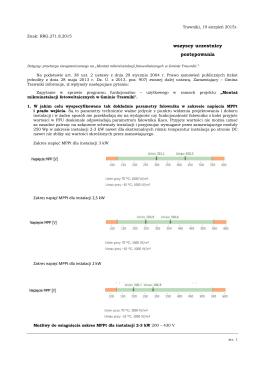 Pytania i odpowiedzi 19.08.2015r.