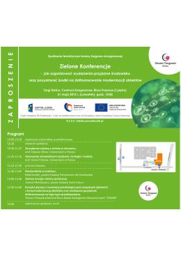 Zielone Konferencje - 21 maj 2015 r