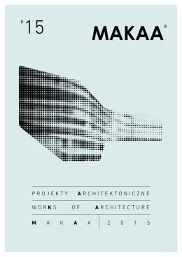 projekty architektoniczne 2015
