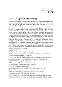 Maess (Małgorzata Skrzypek)
