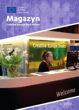 Magazyn Creative Europe Desk Polska