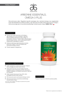 ARBONNE ESSENTIALS® OMEGA-3 PLUS
