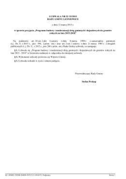 Plik źródłowy - Urząd Gminy Leśniowice