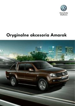 Oryginalne akcesoria Amarok - Volkswagen Samochody Użytkowe