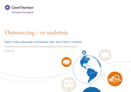 Outsourcing – to uzależnia