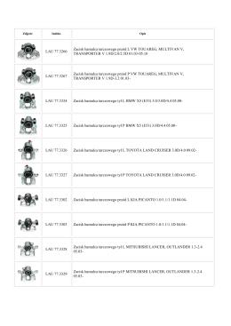 LAU 77.3266 Zacisk hamulca tarczowego przód L VW