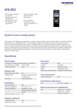 WS‑853 - Olympus