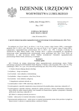 Plik źródłowy - Urząd Miasta Chełm