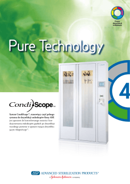 System CondiScope™, stanowiący część pełnego systemu do