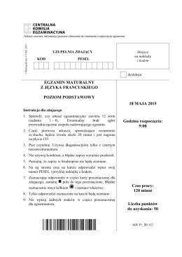 Arkusz - Polskie Radio