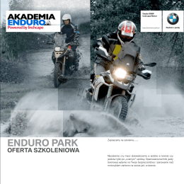 ENDURO PARK - Inchcape.com.pl