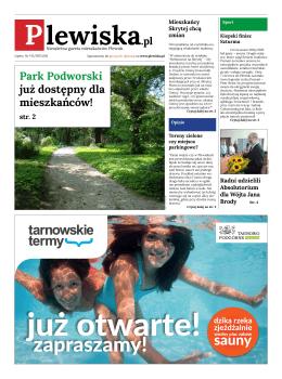 Park Podworski już dostępny dla mieszkańców!