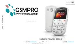 Instrukcja obsługi Alcatel OneTouch 282