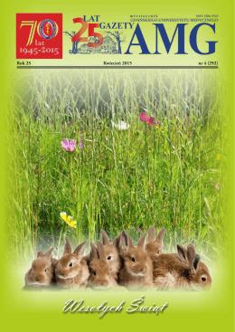 Gazeta AMG kwiecień 2015 - Gdański Uniwersytet Medyczny