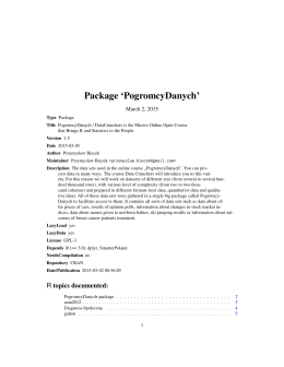 Package `PogromcyDanych`