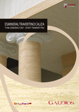 ESMINERAL TRAVERTINO CALIZA