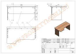 biurka - Projekty Mebli
