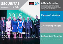 SECURITAS news