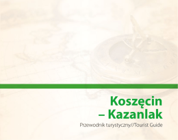 Koszęcin-Kazanlak.Przewodnik turystyczny