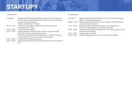 STARTUPY - Forum Rozwoju Mazowsza