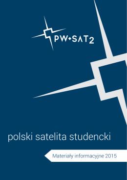 PW-Sat2 - Materiały informacyjne 2015