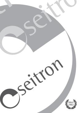 catalogo seitron 2015