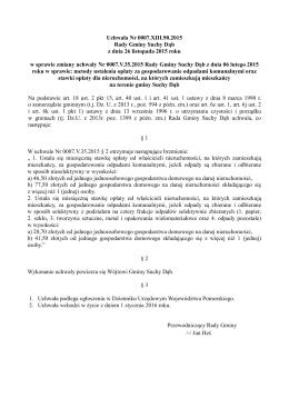 0007.XIII.90.2015 - Urząd Gminy Suchy Dąb