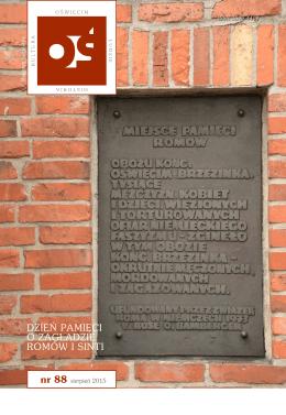 DZIEŃ PAMIĘCI O ZAGŁADZIE ROMÓW I SINTI - Auschwitz