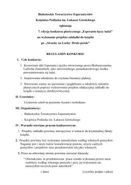 Białostockie Towarzystwo Esperantystów Książnica Podlaska im