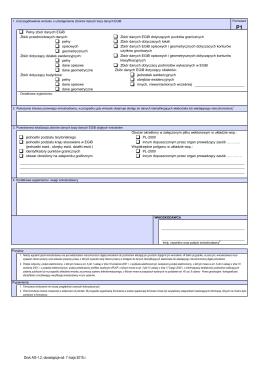 AG-1.2 (formularz P1) - Uszczegółowienie wniosku o udostępnienie