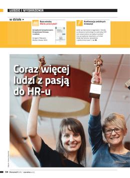 Coraz więcej ludzi z pasją do HR-u - pol