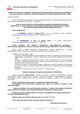 program - Polska Agencja Rozwoju